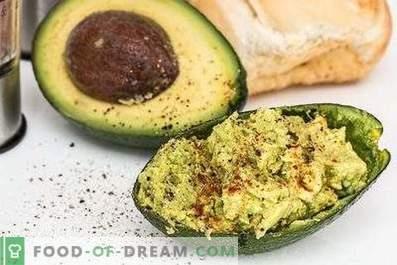 Wie man Avocado isst