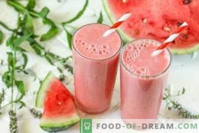 Wassermelonen-Smoothies