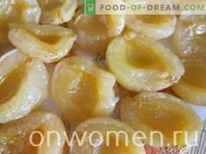 kandierte Aprikose ohne Samen