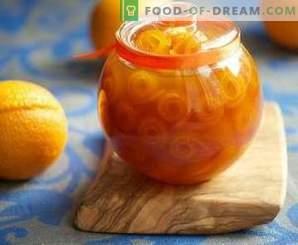 Orangenschalenmarmelade