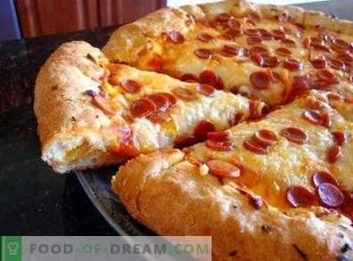 Prächtiger Pizzateig