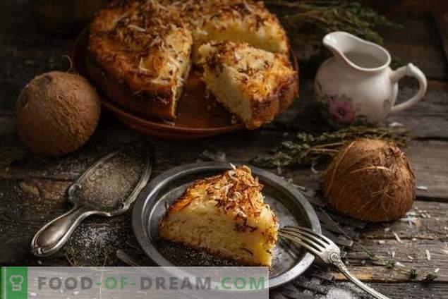 Deutscher Kokos-Kuchen-Kuchen