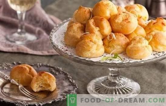 Französische Brötchen: Rezepte aus süßem, Vanillepudding, Blätterteig. Varianten von französischen Brötchen mit Zimt, Mohn, Rosinen, Schokolade