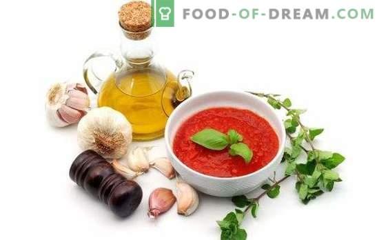 Home adzhika für den Winter: es ist notwendig, sich zu vergewissern! Beliebte Rezepte für die Herstellung von echtem Adzhika zu Hause