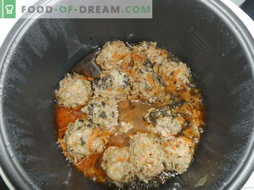 Fleischbällchen - die besten Rezepte. Wie man Fleischbällchen richtig kocht.