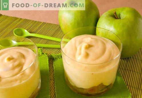 Apfelmus - die besten Rezepte. Wie man richtig und lecker Apfelmus kocht.